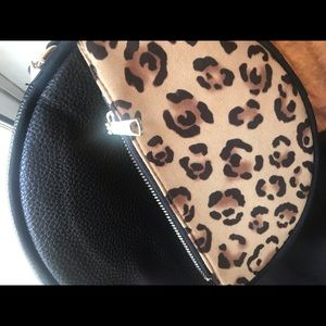 H&M Bags - H&M round purse with gold hardware